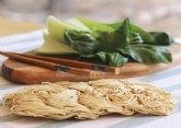 Verduras asiáticas, salteadas, a la plancha o al vapor