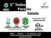 El pabellón Príncipe de Asturias acogerá el I Trofeo Paraíso Salado de fútbol sala