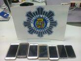 La Policía Local detiene a tres individuos como presuntos autores del robo de móviles junto al campamento festero