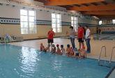 El Centro Deportivo de Puerto Lumbreras incrementa en más del 50% el número de usuarios en los cursos de natación infantil