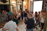 Manuel Páez ofrece una visita guiada a su exposición de Casas Consistoriales
