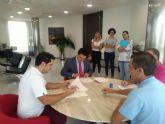 Primer convenio de colaboración con la Fundación RafaPuede