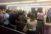 Las Torres de Cotillas recuerda con un minuto de silencio a la víctima mortal de violencia de género de Canteras