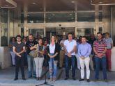 Minuto de silencio en San Javier por la última víctima de violencia de género en la Región