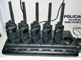 Policía Local de Torre Pacheco dispone de nuevos equipos de radio TETRA DIGITAL