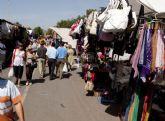 Los mercadillos de Urbanización Mediterráneo y Llano del Beal se trasladan esta semana al jueves