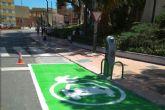 Inscritos los primeros 12 usuarios de los puntos de recarga para vehículos eléctricos