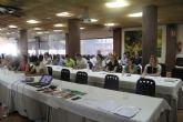 Los trabajadores de Terra Natura Murcia realizan un simulacro de incendio para actuar eficientemente en caso de emergencia