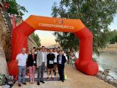 Más de un centenar de deportistas participan en la carrera Muévete por la Donación de Órganos por la mota izquierda del río