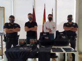 Policía Local de Blanca recibe nuevo material de autoprotección