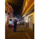 Extinguido un incendio en una vivienda situada en la calle Lavador de Calasparra