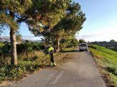Se ponen a punto más de 26 km de carril bici, entre el Raal y la Contraparada, para fomentar el deporte al aire libre