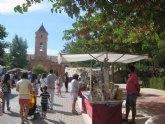Este próximo domingo, 30 de octubre, se celebra el tradicional Mercadillo Artesano de La Santa, junto al atrio del santuario