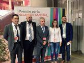 Cruz Roja premia a dos empresas cartageneras por su fomento de la inclusión laboral
