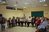 Comienzo del taller 'menopausia, consecuencias y ejercicios del suelo pélvico' en Moratalla