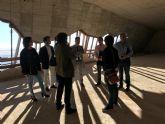 El Alcalde de Torre-Pacheco, muestra el edificio del futuro Museo de Paleoantología y de la Evolución Humana al Director General de Bienes Culturales