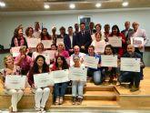 Los alumnos de los primeros cursos de la Fundación INCYDE en San Javier recibieron sus diplomas