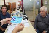 Reducen el tiempo de espera para obtener la tarjeta de estacionamiento de personas con discapacidad en Puerto Lumbreras