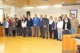 El Ayuntamiento de Totana realiza una recepción institucional a la delegación de la ciudad hermana de Mérida
