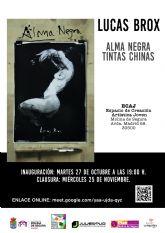 Lucas Brox presenta la exposición Alma Negra en el Espacio de Creación Artística Joven de Molina de Segura a partir del martes 27 de octubre