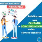 NNGG Cieza solicita una campaña de concienciación en los institutos ciezanos