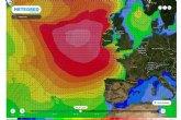Superborrasca en el Atlántico Norte para despedir el mes de octubre