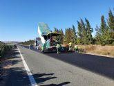 Mejoran la seguridad vial de la autov�a que une Alhama de Murcia con Cartagena