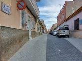 Finalizan las obras de renovaci�n de servicios y adoquinado mediante plataforma �nica en la calle Romualdo L�pez C�novas