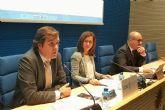 Castejon insta a los empresarios a luchar unidos para que infraestructuras como el AVE y el Corredor Mediterraneo lleguen cuanto antes a Cartagena