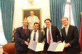 La UCAM firma un convenio de colaboración con la EU Business School