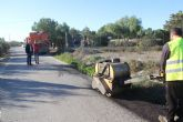 La Concejalía de Obras desarrolla actuaciones de mejora en más de 20 caminos rurales