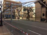 Desde hoy y hasta el 10 de diciembre se corta al tráfico la calle Sol por la instalación de la Carpa de la Feria de Día