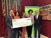 Caja Rural Central entrega 2.001 euros a la asociación lumbrerense de personas con discapacidad Adica