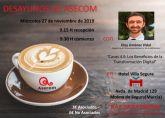 Los Desayunos de ASECOM tratarán los beneficios de la transformación digital