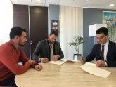 El Ayuntamiento firma un convenio de colaboración con la asociación de comerciantes de Galerías El Flamenco