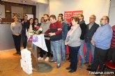 JST y el PSOE de Totana leyeron un manifiesto con motivo del Día Internacional de la Eliminación de la Violencia contra la Mujer