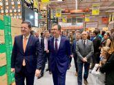 El referente nacional Bricomart apuesta por los proveedores murcianos y abre su primer almacén en Murcia