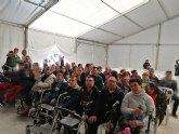 El Centro de Día de Personas con Discapacidad participa en las actividades contra la violencia de género