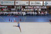 Exhibición de gimnasia rítmica en el Centro Deportivo de Puerto Lumbreras - 2016