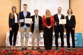 Los mazarroneros Rubén García y Ángel Morales premiados en la gala regional de taekwondo