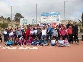 Clausura navideña de la Escuela de tenis Kuore