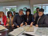 La Comunidad restaura documentos hist�ricos de seis municipios en el laboratorio del Archivo General de la Regi�n