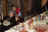 Fundación FADE acerca a los mayores de la residencia San Basilio a los belenes de Murcia