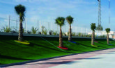 El Polideportivo Municipal torreño ya luce más verde