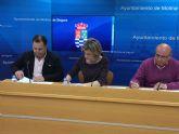 El Ayuntamiento de Molina de Segura y la empresa Autocares Torre Alta firman un convenio para promocionar y subvencionar el transporte público con El Rellano y El Fenazar