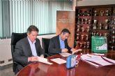 El Ayuntamiento de Alcantarilla suscribe sendos convenios de colaboración con la Federación de Fútbol de la Región de Murcia
