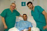 Luis Ángel Maté, del Cofidis, operado con éxito en el Hospital de Molina