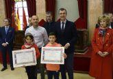 Más de un centenar de niños de La Arboleja, La Albatalía y Espinardo participan en el concurso ´Dibuja tu Belén´