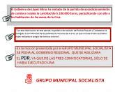 El Gobierno de López Miras ha restado de la partida de acondicionamiento de Caminos Rurales la cantidad de 5.100.000 Euros