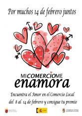 El Ayuntamiento premiará las compras en Jumilla del 8 al 14 de febrero a través de la campaña 'Mi comercio me enamora'